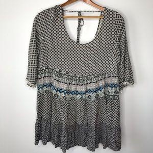 Umgee boho blouse SZ med